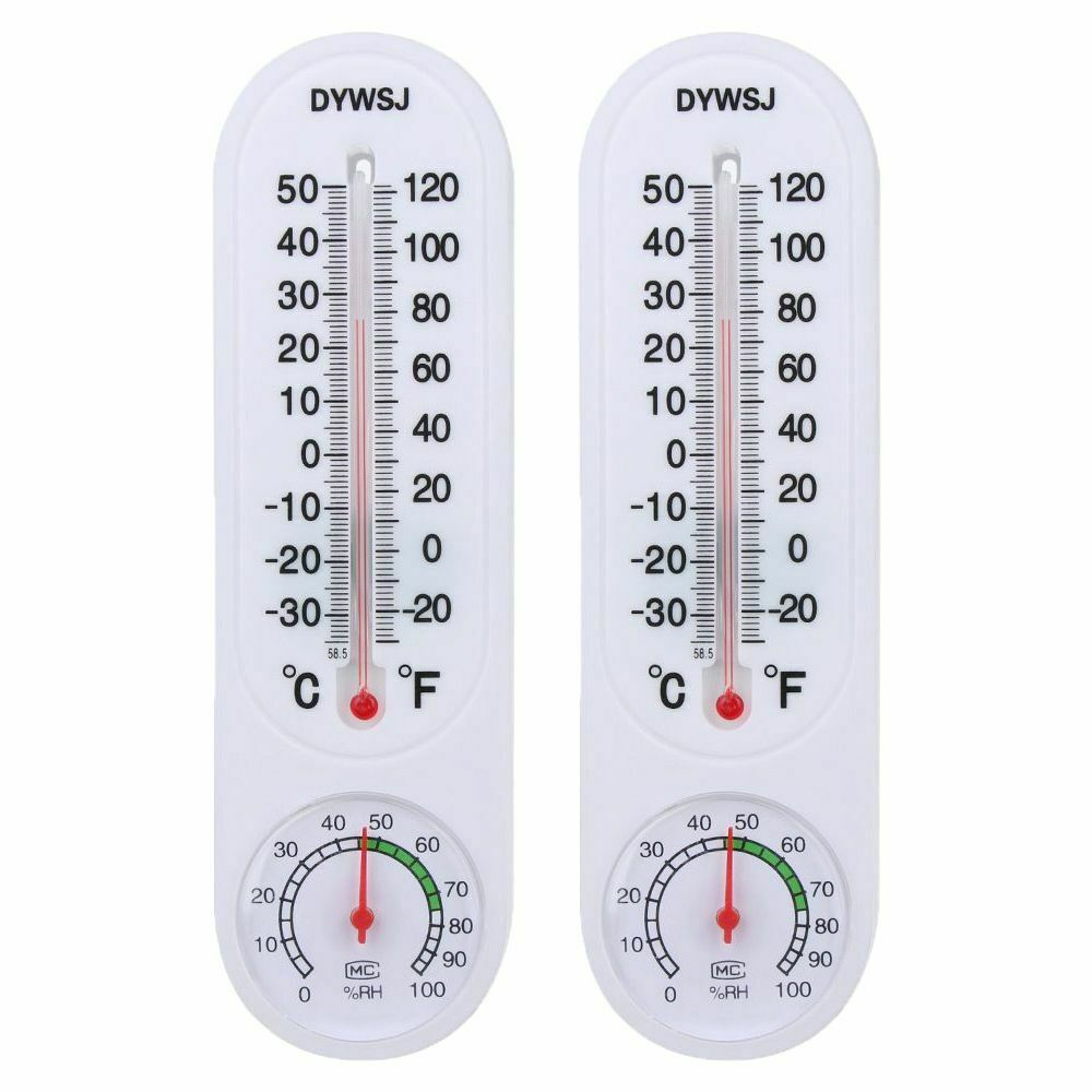 Wall Thermometer Indoor Outdoor Hang House Meter Temperature Monitor Measurement