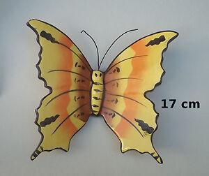 magnifique,papillon,en,ceramique,decoration,murale,interieur,exterieur,