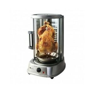 rotisserie mini oven electric chicken spit roast kebab bbq grill stainless steel ebay. Black Bedroom Furniture Sets. Home Design Ideas