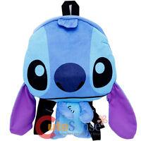 Disney Lilo And Stitch Flat Plush Doll Backpack 15in Stitch Costume Bag