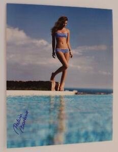 Barbara Palvin Autographed Signed 12X18 Proof COA Victoria