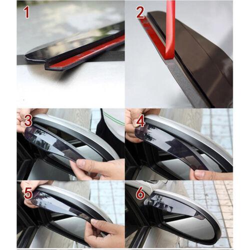 1pcs Car Universal Rear View Side Mirror Rain Snow Guard Sun Visors New