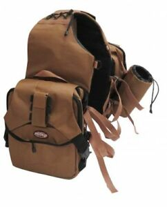 Showman-Brown-Extreme-Trail-Blazer-Saddle-Bag-Horse-Tack-Equine-7028