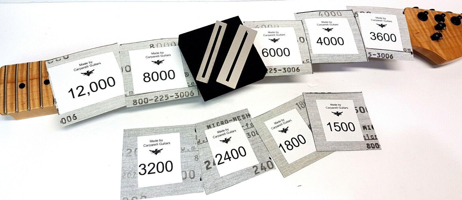 Micro Malla Malla Malla 9X Kit de acabado trastes &  sin mínimo