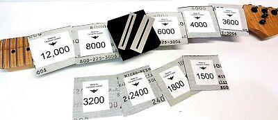 MICRO-MESH Tissu ABRASIF POLISSAGE Finishing abrasive sheets 3600