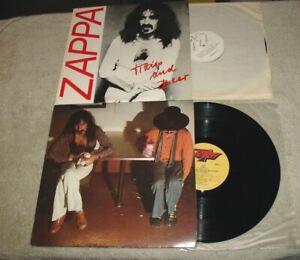 Lot of 2 Frank Zappa Mothers Beefheart LPS - Bongo Fury & Titties and Beer