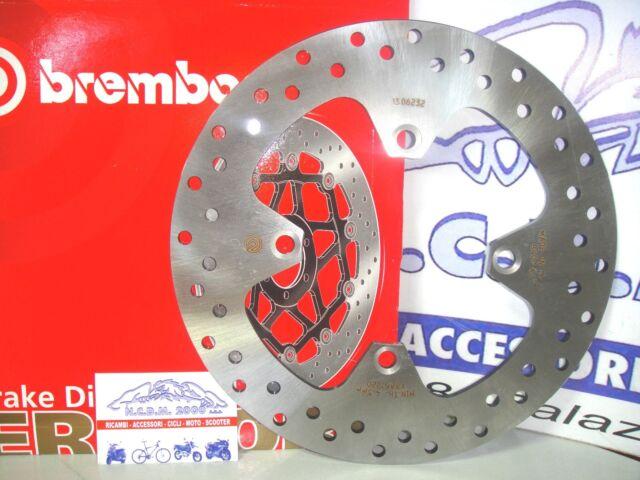 Brake Disc Rear Brembo 68B407A4 Triumph Bonneville T100 865 2009 2010