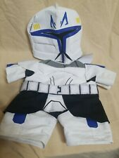 BUILD A BEAR STAR WARS CAPTAIN REX CLONE TROOPER OUTFIT WITH MASK
