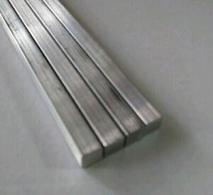 "1-1//4"" X 1-1//4"" X 12"" Long Square Aluminum Bar Stock 6061-T6"