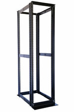 "42U 4 Post Open Frame Server Data Rack 19"" Adjustable Depth 23""-32"""