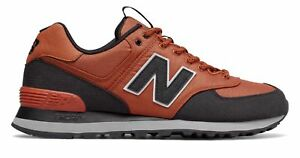 New-Balance-Men-039-s-Out-East-574-Shoes-Brown-with-Black