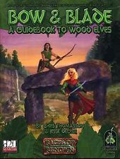 BOW & BLADE A GUIDEBOOK TO WOOD ELVES NM! GRR1106 Green Ronin Dungeons & Dragons