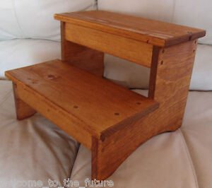 bedroom step stool handcrafted heavy duty step stool wood bedside bedroom 10681