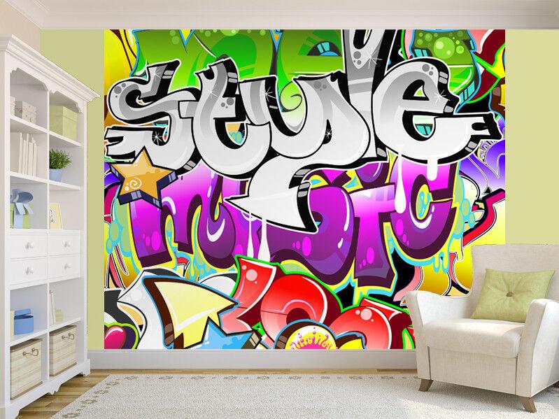 Graffiti Urban Art design photo Wallpaper wall mural (12195957) Cool Art