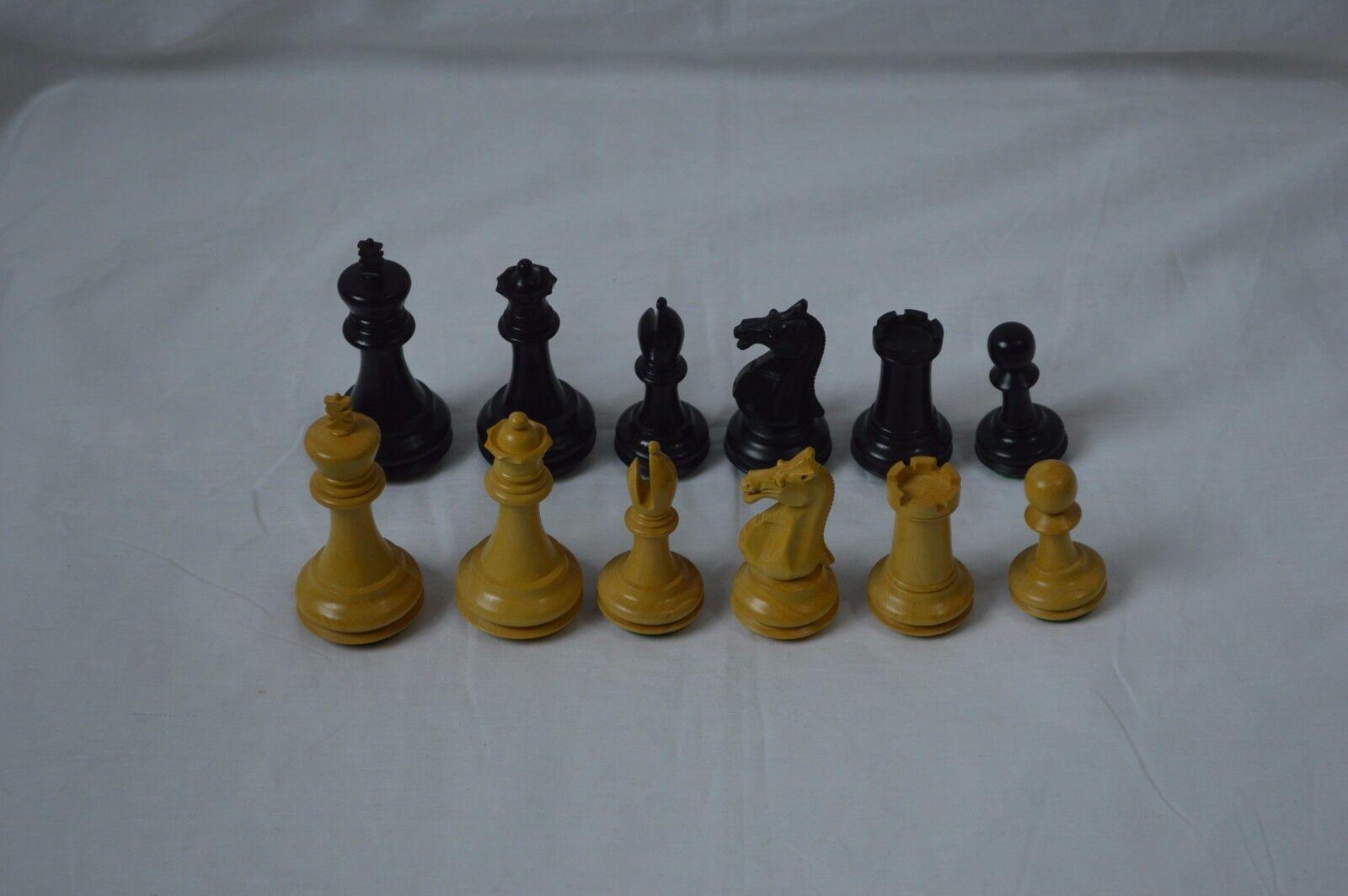En Bois Pièces d'échecs Maison d'échecs style  4  King  jusqu'à 50% de réduction