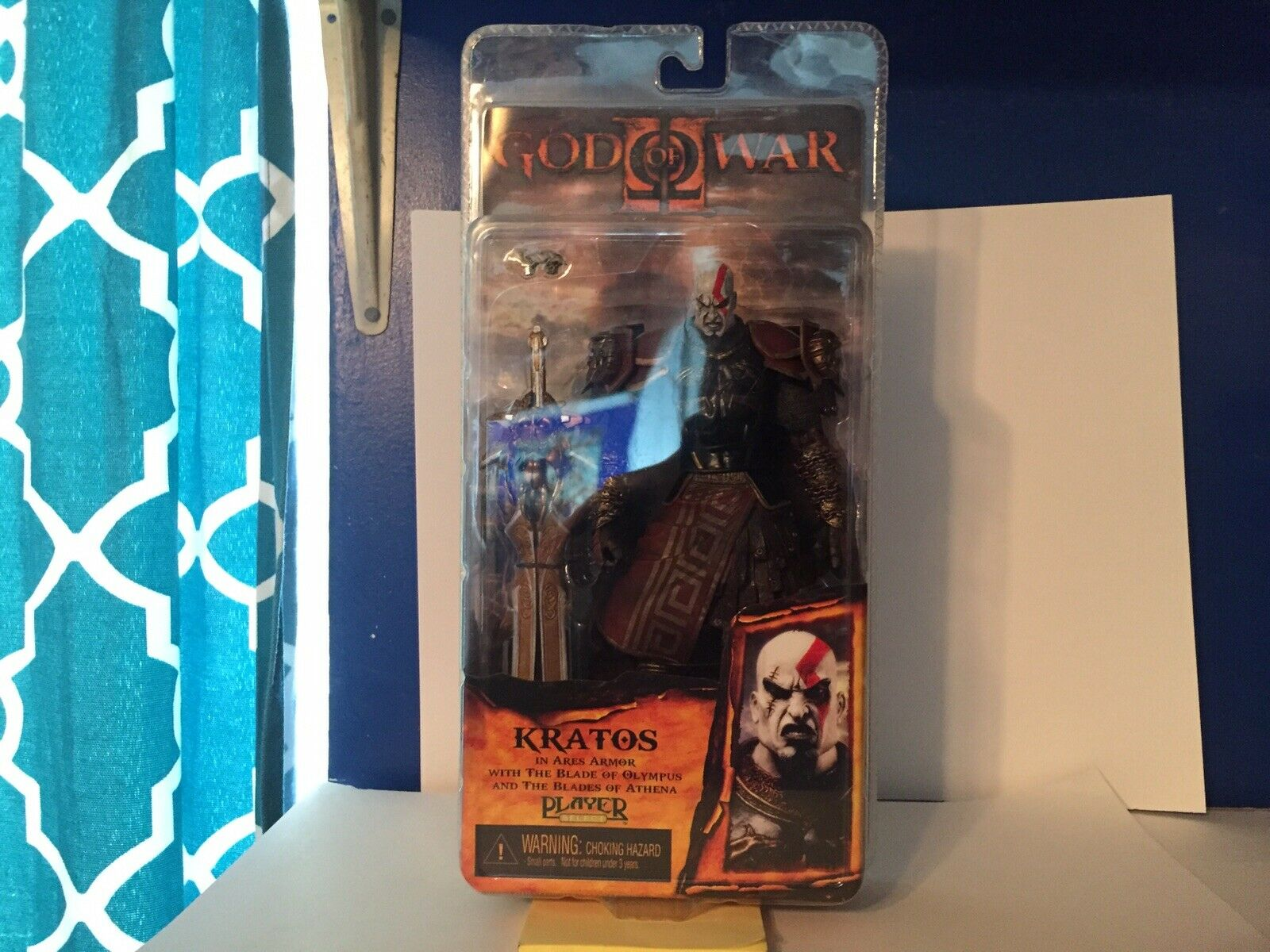 NECA God of War 2 Kratos azione cifra [Ares Armor, Version 2]