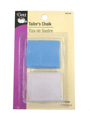 White Dritz 748 Tailors Chalk /& Holder with Sharpener