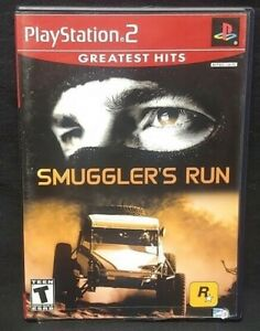 Smuggler's Run   PS2 Playstation 2 COMPLETE Game 1 Owner Near Mint Disc