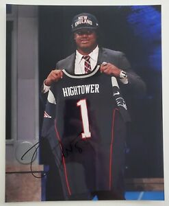 Details about Dont'a Hightower Signed New England Patriots 8x10 Photo 3x Super Bowl Champ RAD