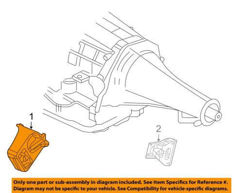 Dodge CHRYSLER OEM 03-05 Ram 1500-Engine Motor Mount Torque Strut 52110086AC