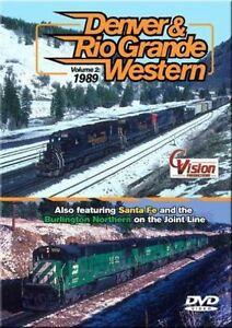 Denver-amp-Rio-Grande-Western-Railroad-Vol-2-1989-DVD-NEW-Cvision-D-amp-RGW-Joint-Line
