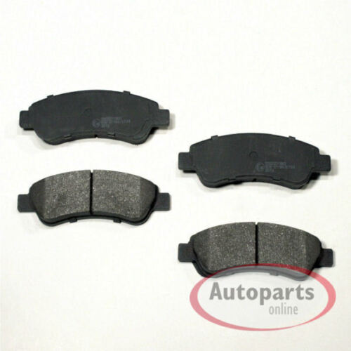 Bremsbeläge Bremsklötze Bremsen für hinten die Hinterachse Fiat Ducato