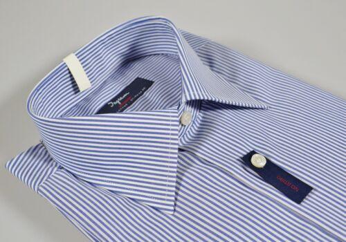 Stiro Taglia Ingram Regolare Cotone Camicia Vestibilità No Righe Azzurro 4xl 49 HwqngB0