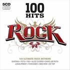 100 Hits: Rock by Various Artists (CD, Oct-2007, 5 Discs, 100 Hits)