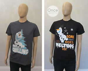 OFFICIEL-HOMME-Disney-Frozen-Olaf-the-Snowman-T-shirt