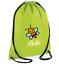 Custom Drawstring Bag Bee Personalised Gym PE Print Back to School