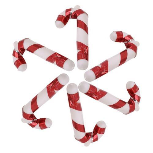 Xmas Christmas Tree Cane Crutch Hanging Pendant Ornament Gift Home Door Decor LA