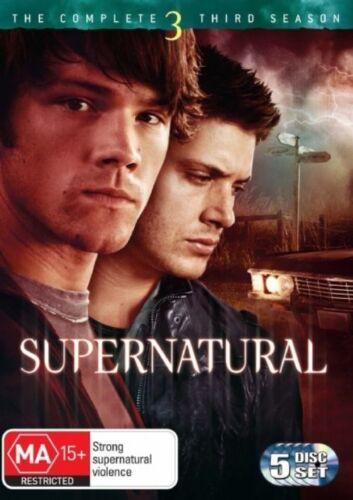 1 of 1 - Supernatural : Season 3 DVD, 2008, 5-Disc Set R4