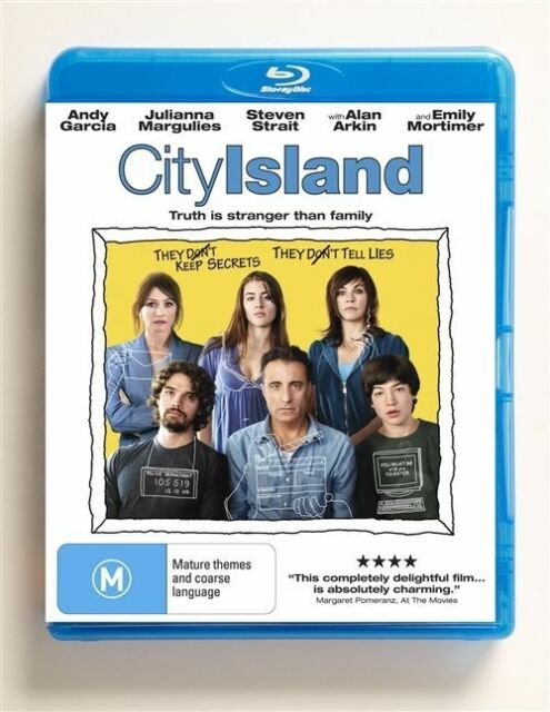 City Island (Blu-ray, 2011) New and Sealed