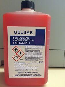 Gelbar Reinigungskonzentrat 1:9 Für 10 Liter . Uhren & Schmuck Reinigung