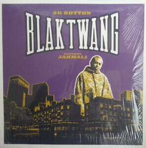 "BANKSY ART COVER - Blak Twang - So Rotton 12"" VG - France - Commentaires du vendeur : ""MAXI VINYLE & POCHETTE & BON ETAT/ 12"" RECORD & SLEEVE VG+ !!!"" - France"