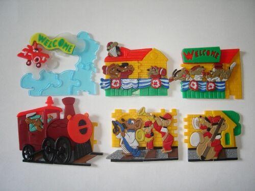 3D PUZZLE TRAIN STATION DEPOT 1998 TOYS COLLECTIBLES KINDER SURPRISE SET
