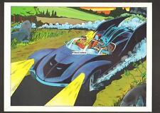 PRIMO:  BATMAN vintage poster Batmobile JLA WW v Superman 1978 DC movie comics