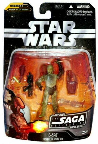 2006 HASBRO Comme neuf on Card Star Wars The saga Collection Scellé Sandtrooper #037