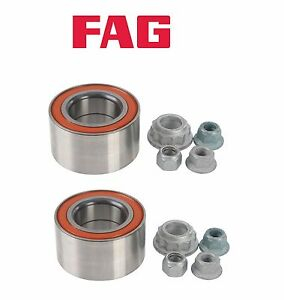 Pair Oem Fag Front Wheel Bearing Kit For Vw Mk4 Golf Gti Jetta Beetle A4 Ebay