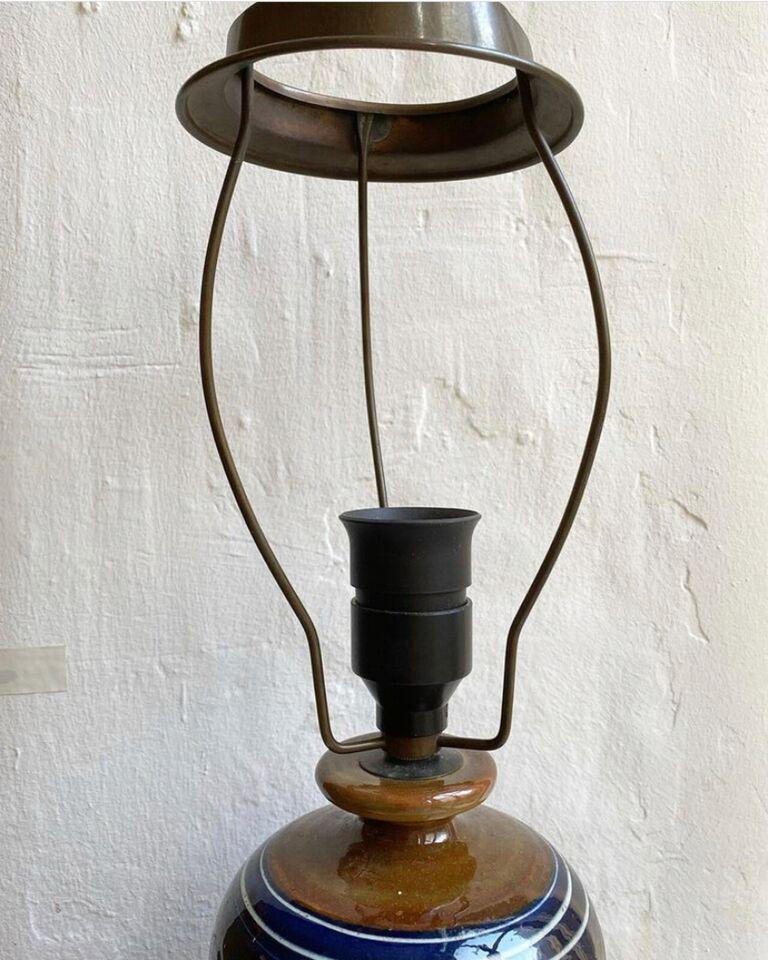Anden bordlampe, Kahler