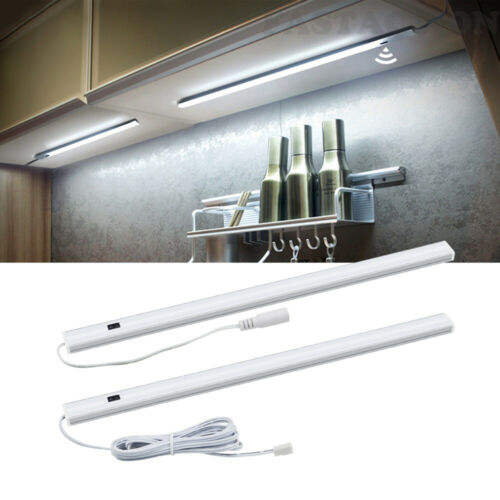 LED Unterbauleuchte Hand Bewegungsmelder Ein//Aus Dimmbar Lichtleiste Küchen-Lamp