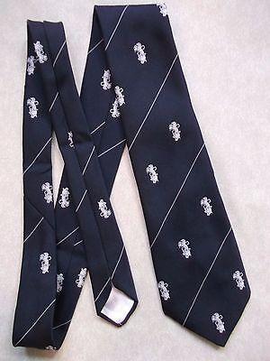 Sistematico Vintage Tootal Cravatta Da Uomo Cravatta Retro Fashion 1980s Crested- Meno Caro