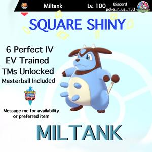 6IV Ultra Shiny Miltank Pokemon Sword and Shield Square Shiny