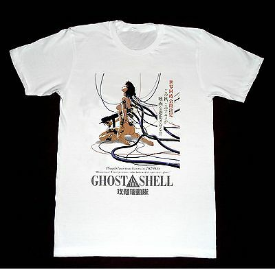 Ghost In The Shell Tshirt F10 Shirt Anime Classic Vintage Japanese Akira Ebay