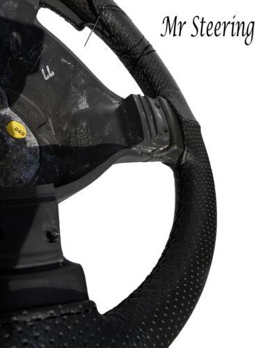 Pour mercedes actros nouveau noir perforé Cuir véritable Couverture volant 2012