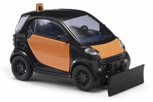 BUSCH 46169 Spur H0 Smart City Coupe mit Schneeschieber #NEU in OVP#