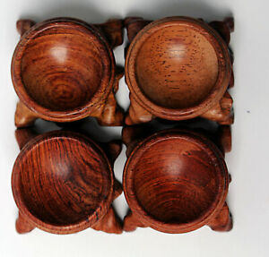 4Pcs-Rosewood-Crystal-Ball-Base-pedestal-holding-diameter-3cm-sx34