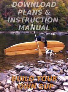 Build Your Own Hollow Wood Stand Up Paddleboard 11 39 Sup Plans For Paddle Board 1478349727 Ebay