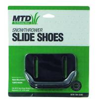 MTD OEM Snowthrower Slide Shoes OEM-784-5580 Fits Two Stage Models 1992 & After Garden
