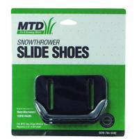 MTD OEM Snowthrower Slide Shoes OEM-784-5580 Fits Two Stage Models 1992 & After Garden